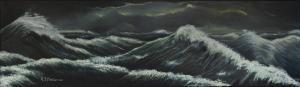 """""""Woeste zee"""" uit het drieluik over Ps. 107"""