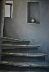 Interieur: Kloostertrap